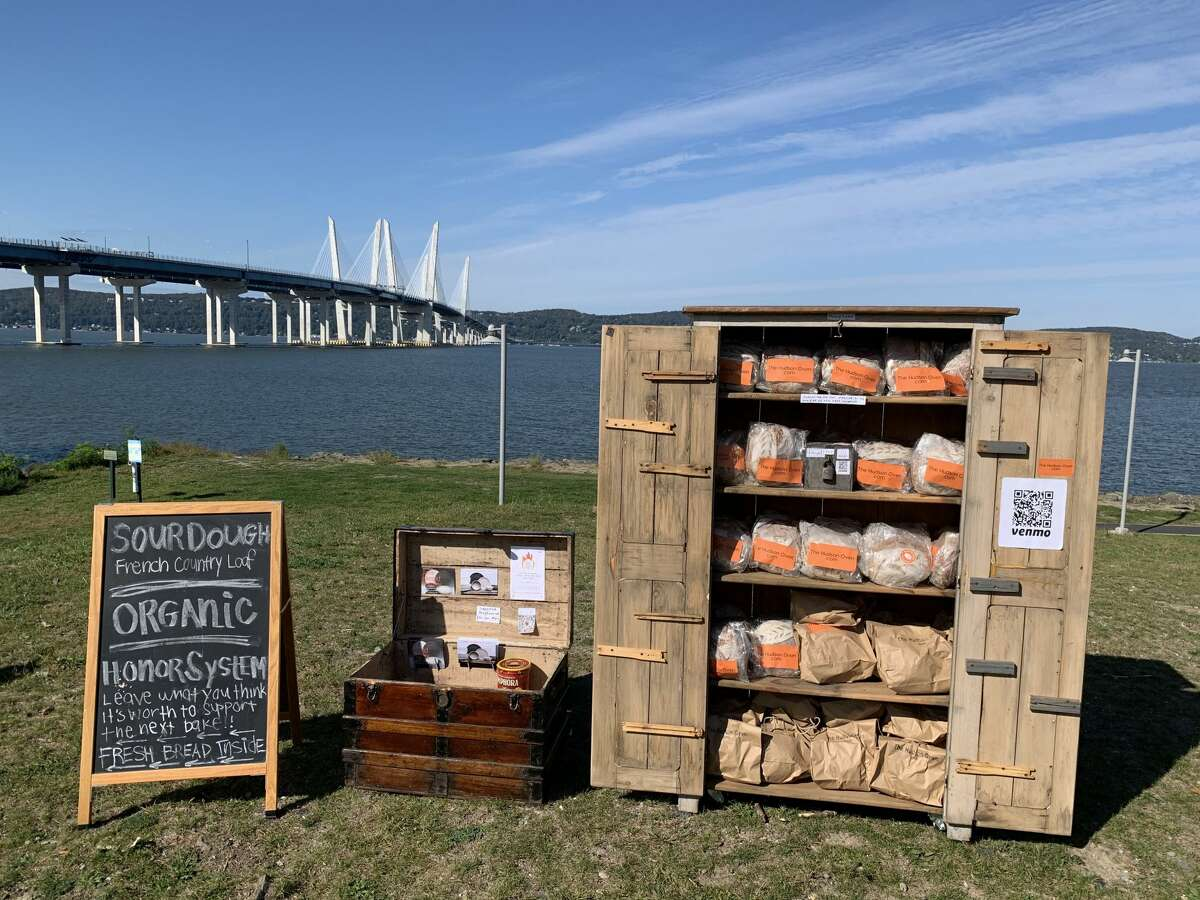 The Hudson Oven's weekly sourdough scavenger hunt takes email subscribers around the Hudson Valley in search of that week's pop-up location.