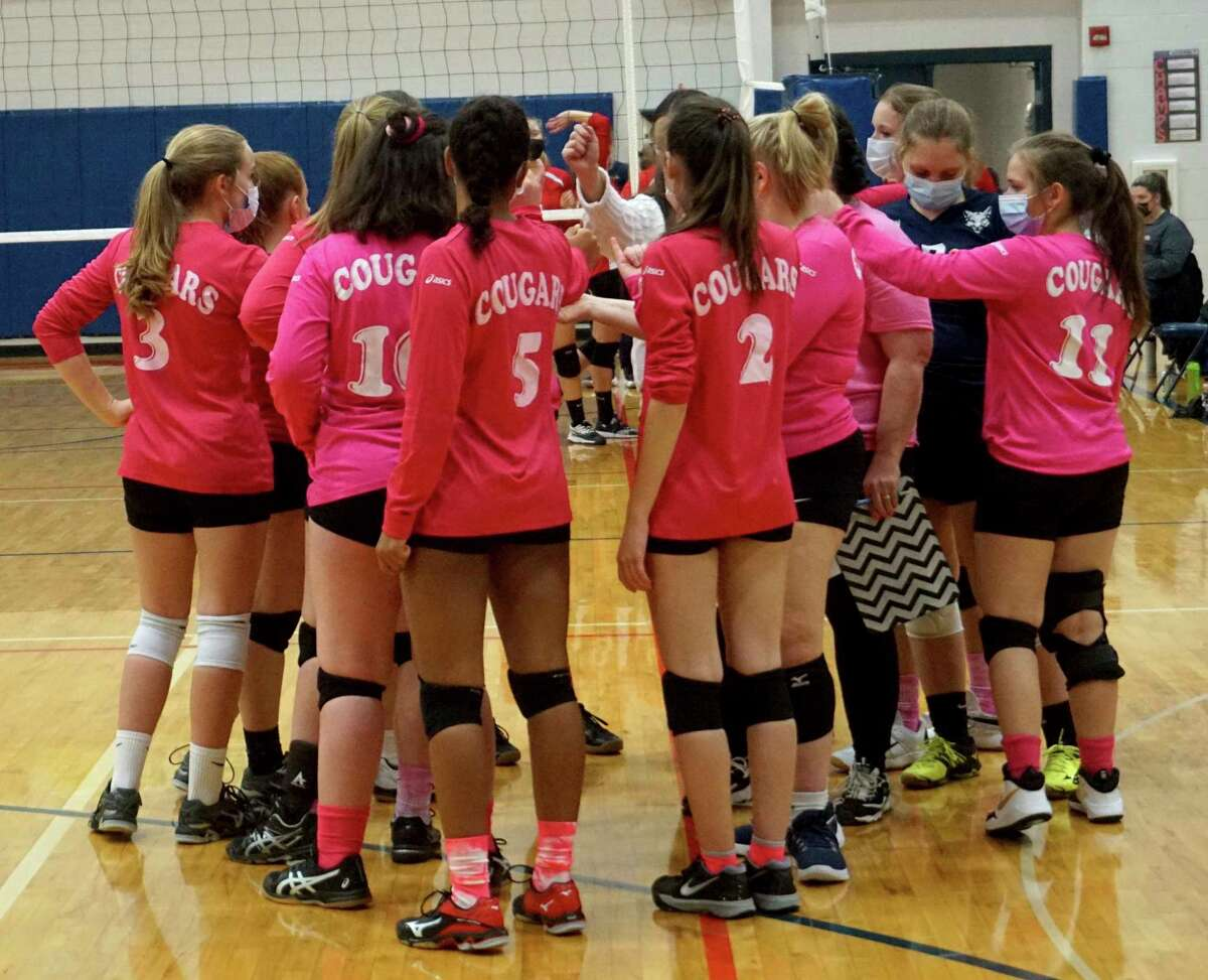 The Crossroads Charter Academy's volleyball team produced a dozen victories during the recently completed 2020 season. (Pioneer file photo)