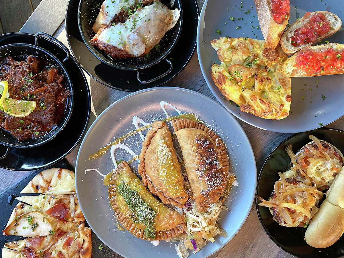 New restaurants are breathing fresh air into the Boerne restaurant scene, including the Spanish cafe Botero Tapas + Wine Bar. The menu features tapas such as, clockwise from bottom, empanadas, flatbread with jamón serrano, beef ribs, lamb on baguette, tortilla de patatas and sliders with beef, chorizo and Manchego cheese.