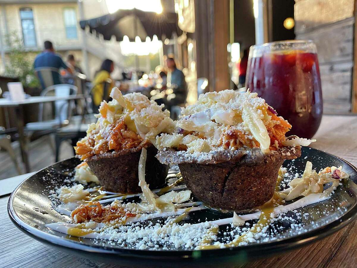 The new Spanish restaurant Botero Tapas + Wine Bar in Boerne features chicken tinga rellenos and red wine sangria.