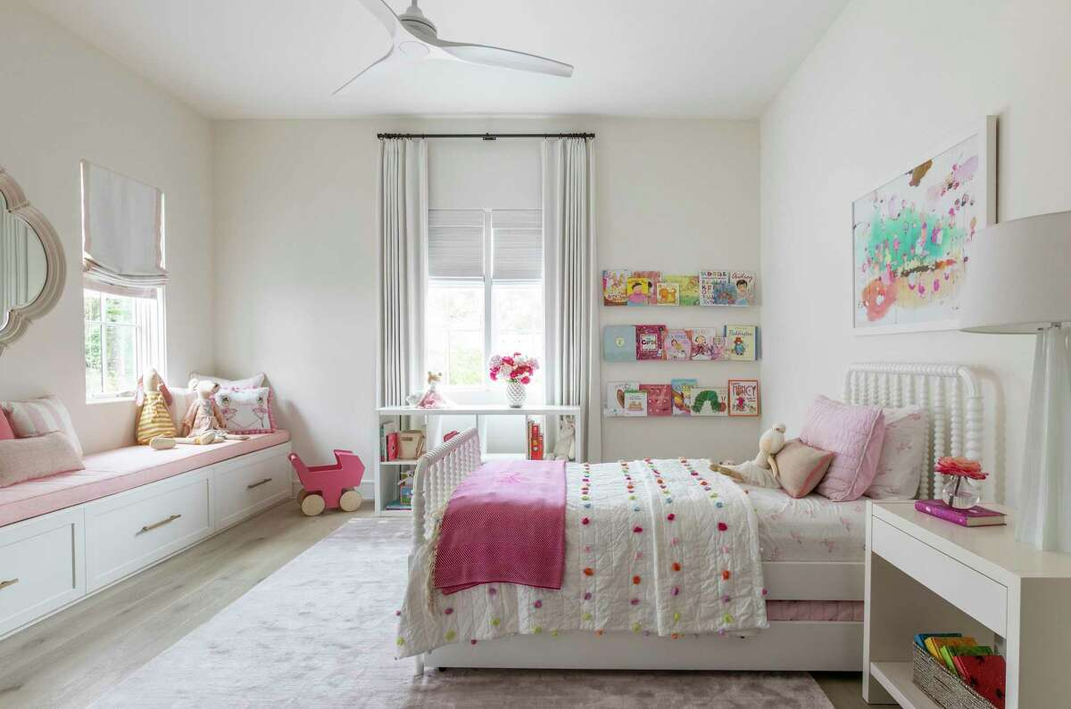 A children's bedroom designed by Marie Flanigan Interiors.