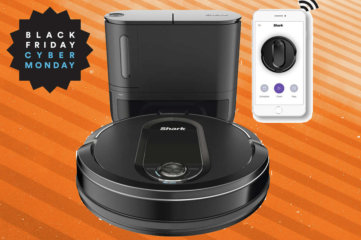 The Shark IQ Robot Vacuum is $70 off for Black Friday