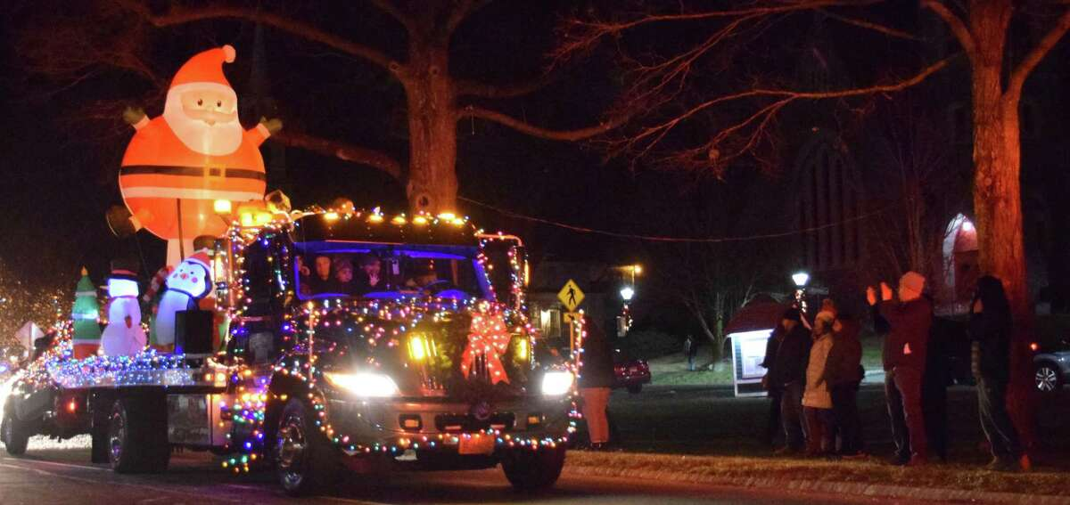 The 2019 Parade of Lights featured a parade of decorated fire trucks and other vehicles. This year's event will go on as planned Dec. 5.