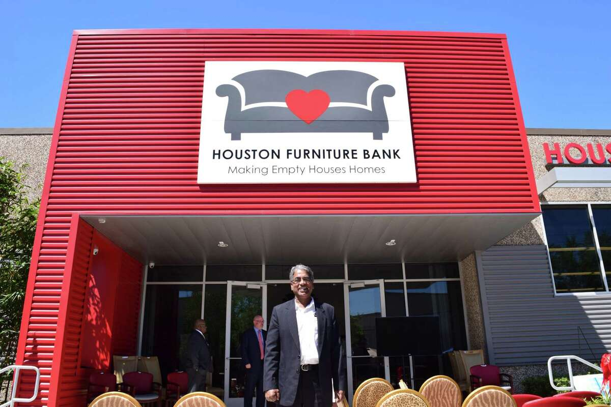"""Houston Furniture Bank Executive Directer Oli Mohammed is a driving force for the """"No Kid On The Floor"""" initiative."""