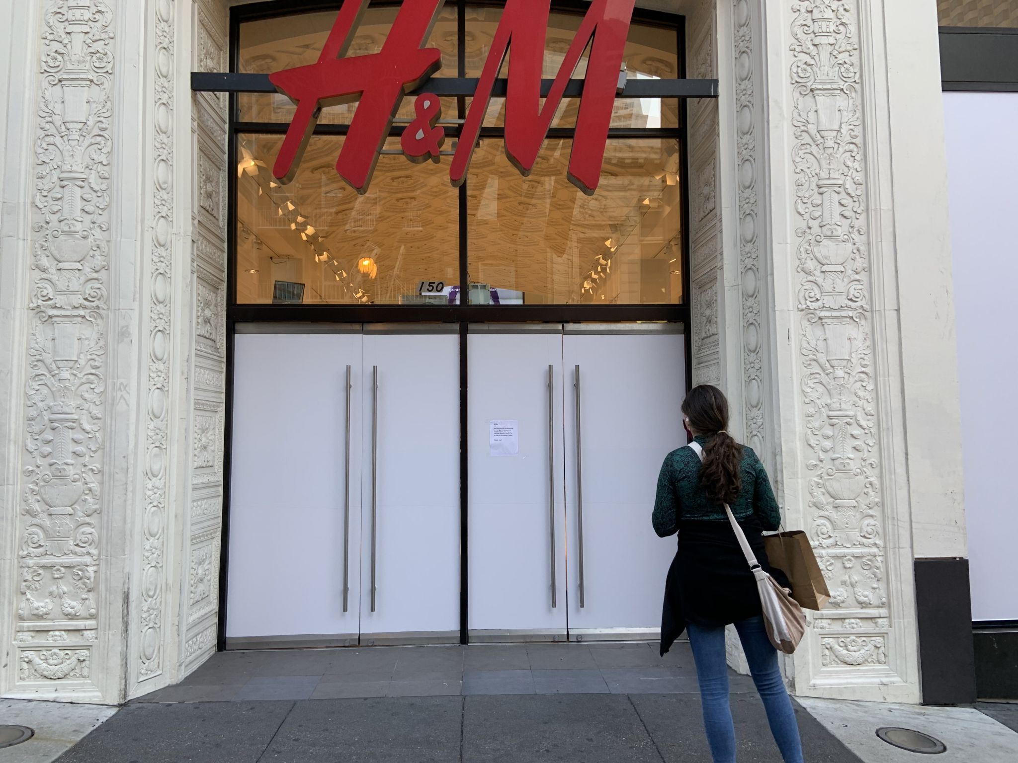 H&M closes West Coast flagship store on SF's Powell Street