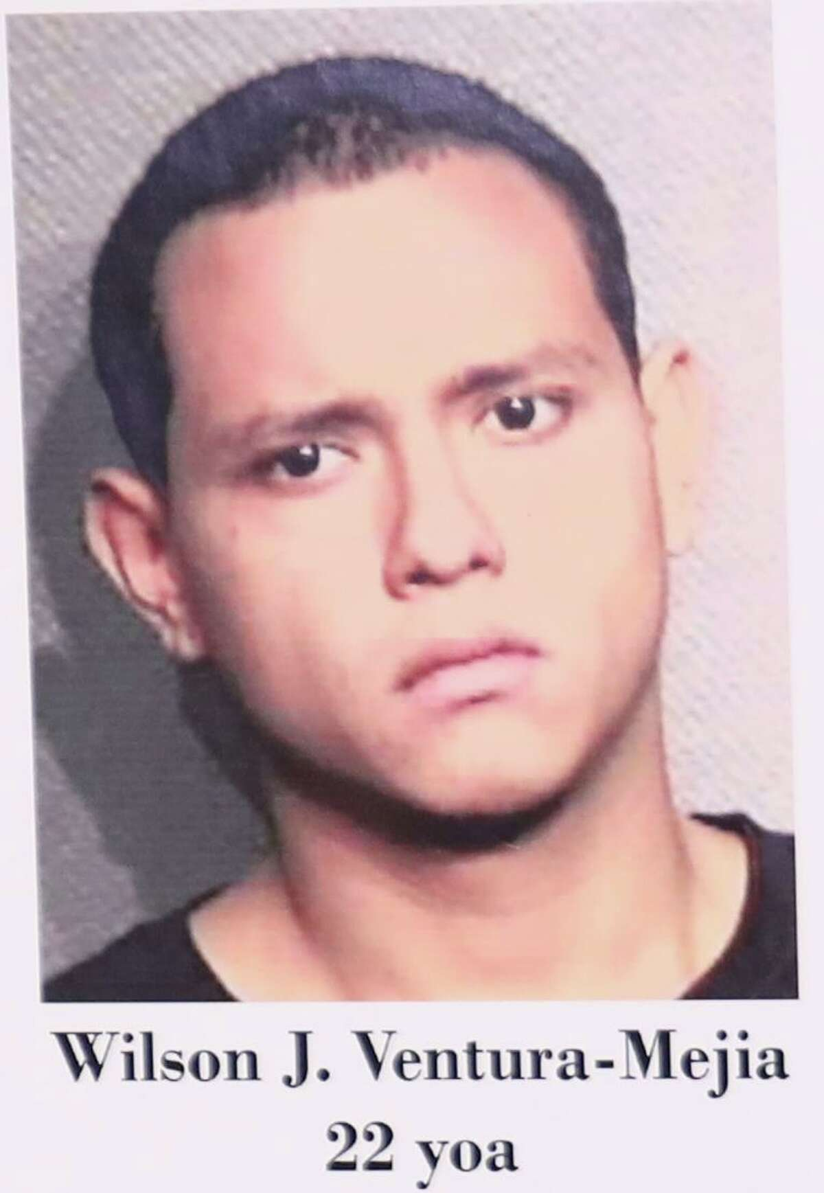 The arrest of MS-13 gang member Wilson J. Ventura-Mejia was announced Tuesday, Sept. 4, 2018, in Houston.