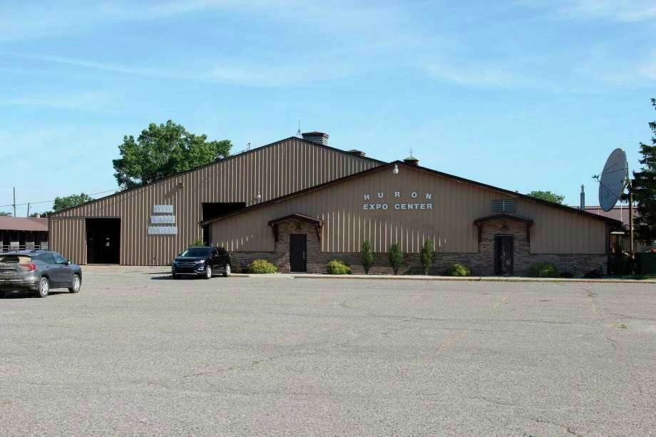The Huron County Expo Center, where the past few planning commission meetings have taken place. (Tribune File Photo)