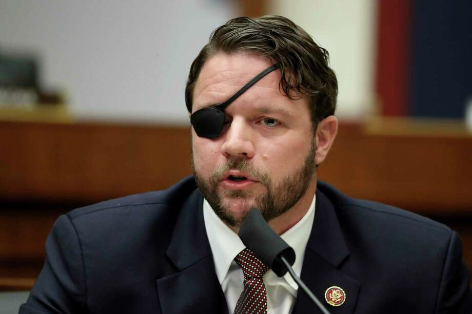 Rep. Dan Crenshaw, R-Texas, refused to vote on the impeachment charges against President Donad Trump. Photo: Chip Somodevilla, POOL / Associated Press / 2020 Getty Images