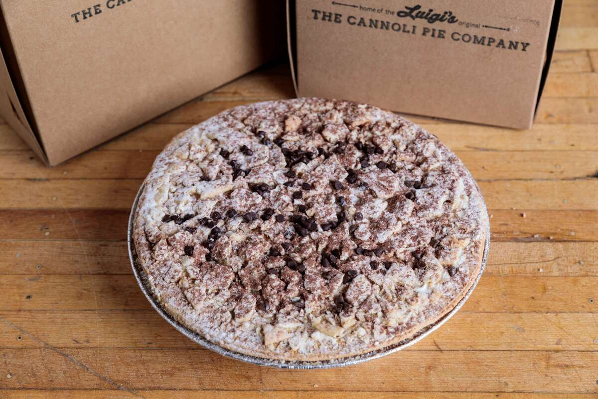 Luigi's Cannoli Pie from The Cannoli Pie Company in Bridgeport. Dimarco studied baking in Italy and came to the United States years ago where he got a job at a bakery in New York. Soon after, he opened Luigi's Bakery in Bridgeport.
