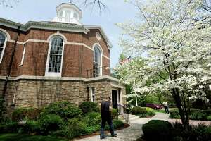 A positive coronavirus case has forced the temporary closure of the Perrot Memorial Library in Old Greenwich.