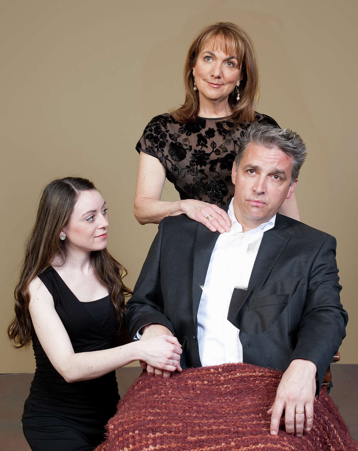 In addition to a busy law career and family life, Patrick McKenna also often performed for many years with Capital Region community theaters, including this 2013 Theater Voices production of