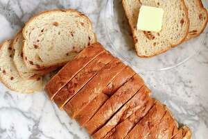 Calise Bakery's Brioche Style Cinnamon Chip Texas Toast goes great with butter, of course.