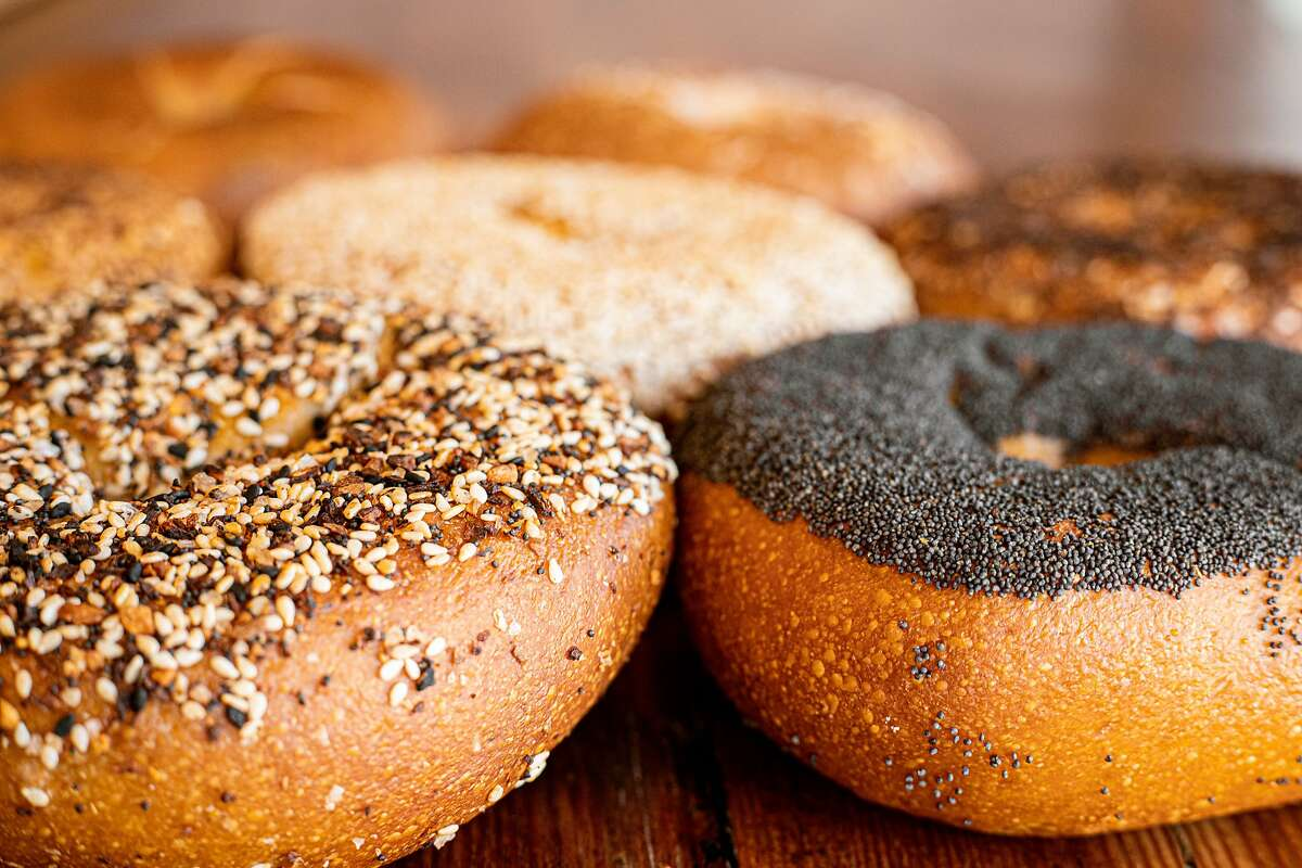 Schlok's makes unusually large bagels, with a seed-covered crust on the bottom instead of the top. The San Francisco outfit is getting ready to open a brick-and-mortar bagel shop.