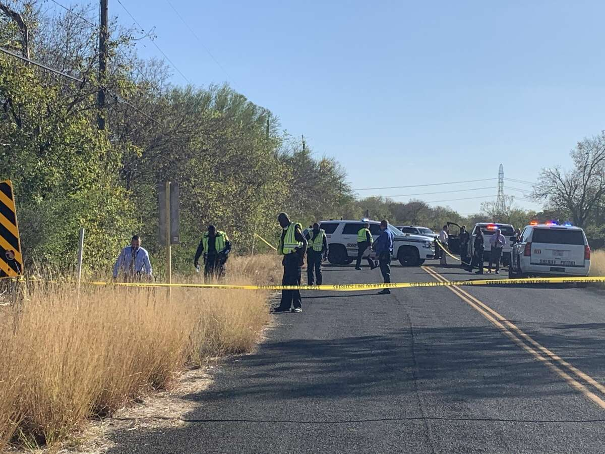 Work crews picking up trash near WW White and Higdon roads on Thursday discovered what is believed to be human remains on the side of the road, the Bexar County Sheriff's Office said.