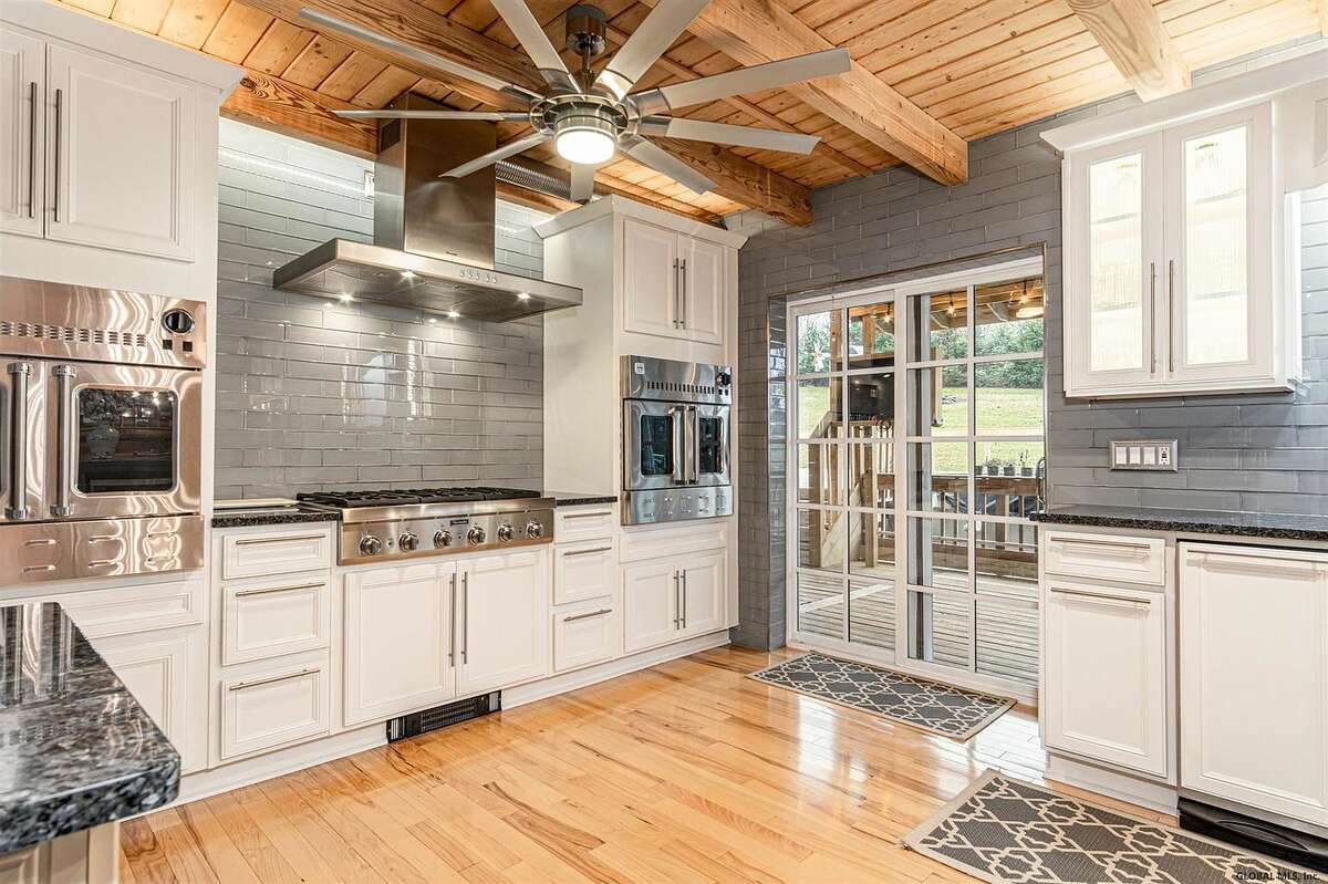 Scroll through the list below to take a peek inside five homes currently for sale in the Capital Region, each with a gorgeous instagram-worthy kitchen.