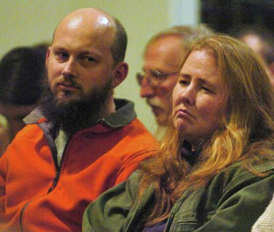 Jocelyn McDonald, right, and her husband Stephen Kerr attend a candlelight vigil held in behalf of their son Jaliek Rainwalker, 12, on Friday, Nov. 9, 2007, at the Salem United Methodist Church in Salem, N.Y. Jaliek was last seen Nov. 1. (Cindy Schultz / Times Union) Photo: CINDY SCHULTZ / ALBANY TIMES UNION
