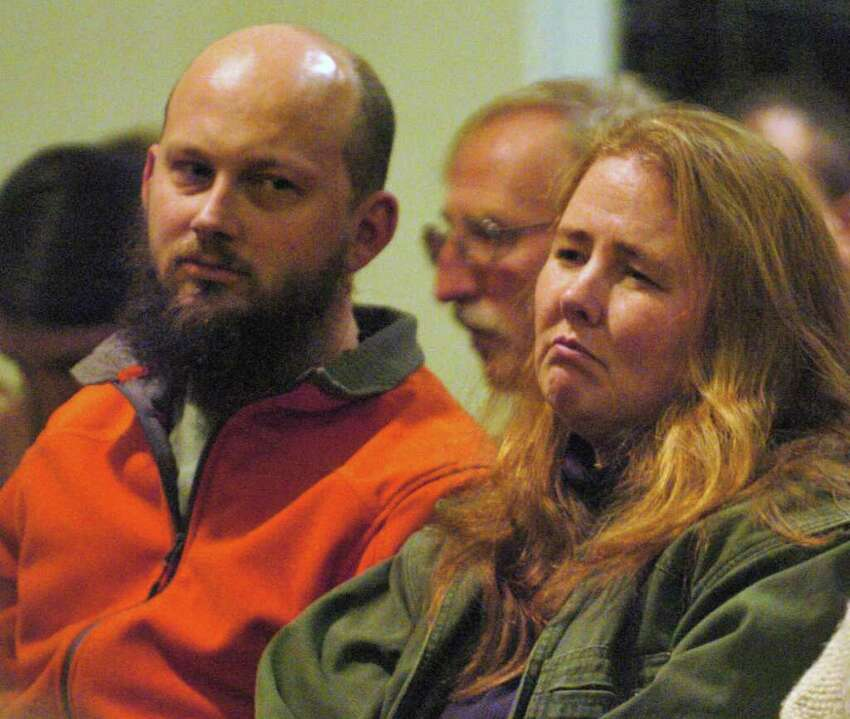 Jocelyn McDonald, right, and her husband, Stephen Kerr, attend a candlelight vigil held on behalf of their adoptive son Jaliek Rainwalker, 12, on Friday, Nov. 9, 2007, at the Salem United Methodist Church in Salem, N.Y. Jaliek was last seen Nov. 1, 2007, at their Washington County home. Police believe foul play was involved but no one was ever charged in his disappearance. (Cindy Schultz / Times Union)
