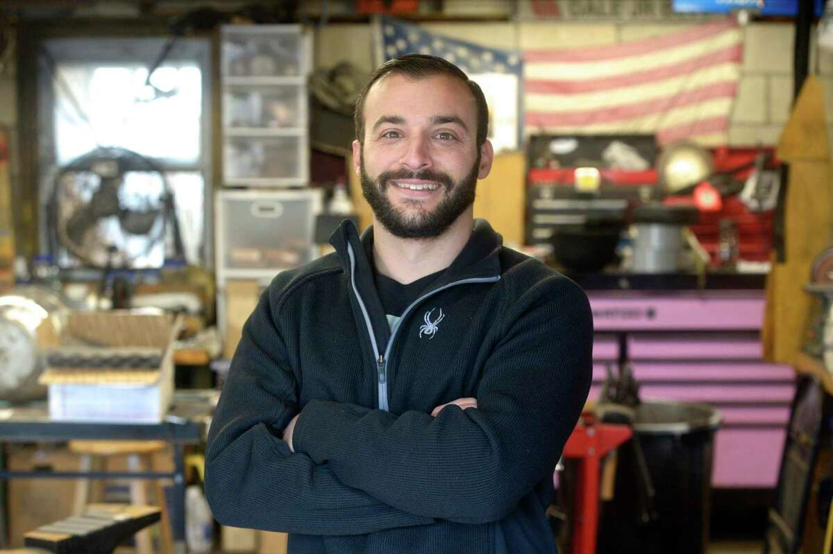 Mike Rizzo, of Danbury, was featured on