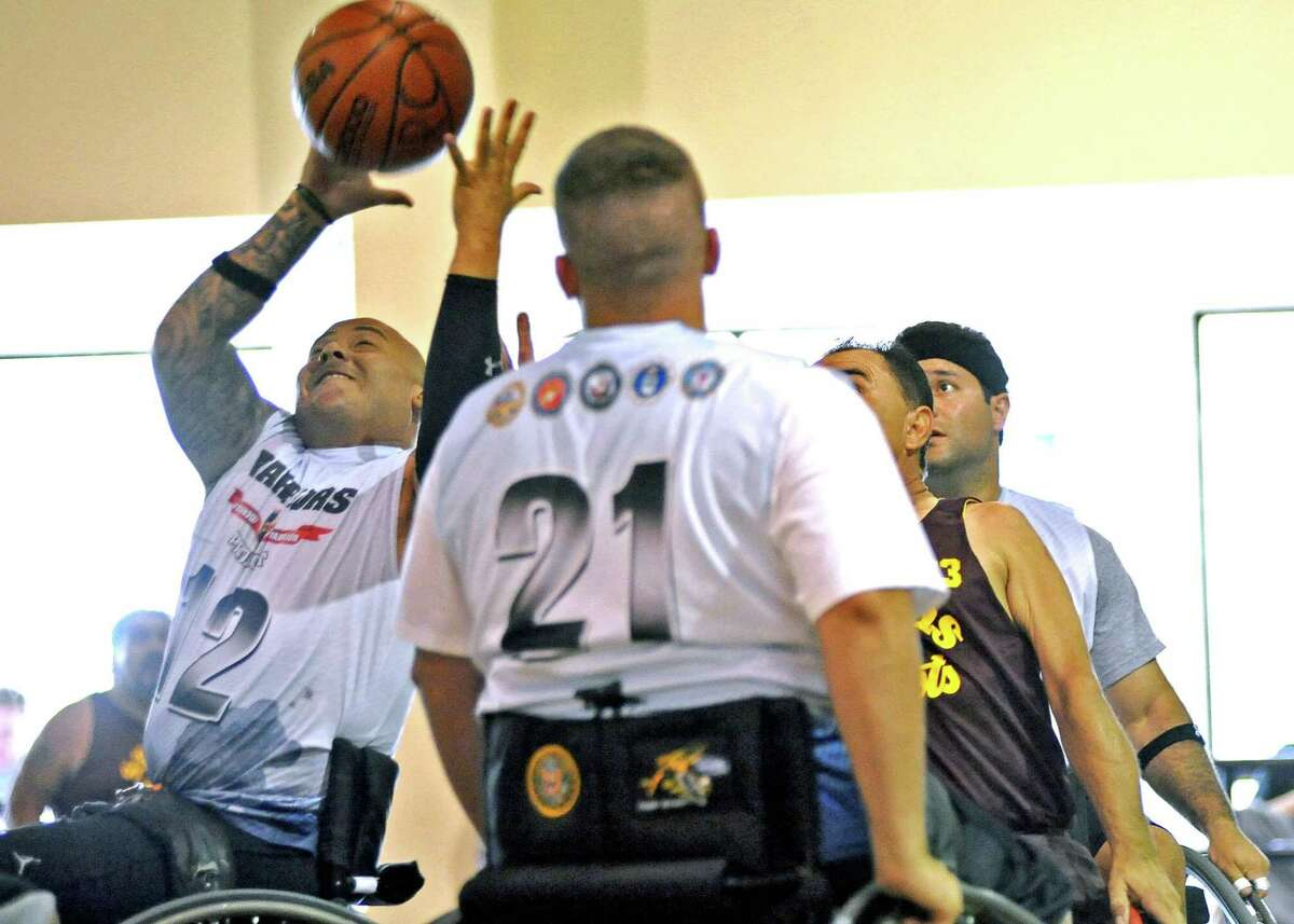 Known for activities such as an annual wheelchair basketball tournament, Verne Cox Multipurpose Recreation Center has been closed to the public since March because of the coronavius pandemic. But the center continues to offer programs for people with cognitive or physical disabilities through its Facebook page, socially distanced activities and drive-through services.
