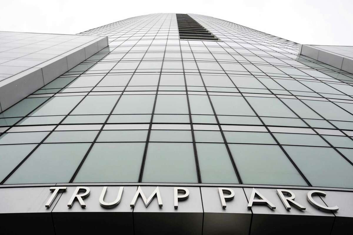 The Trump Parc in downtown Stamford, Conn. on Thursday, Oct. 27, 2016.