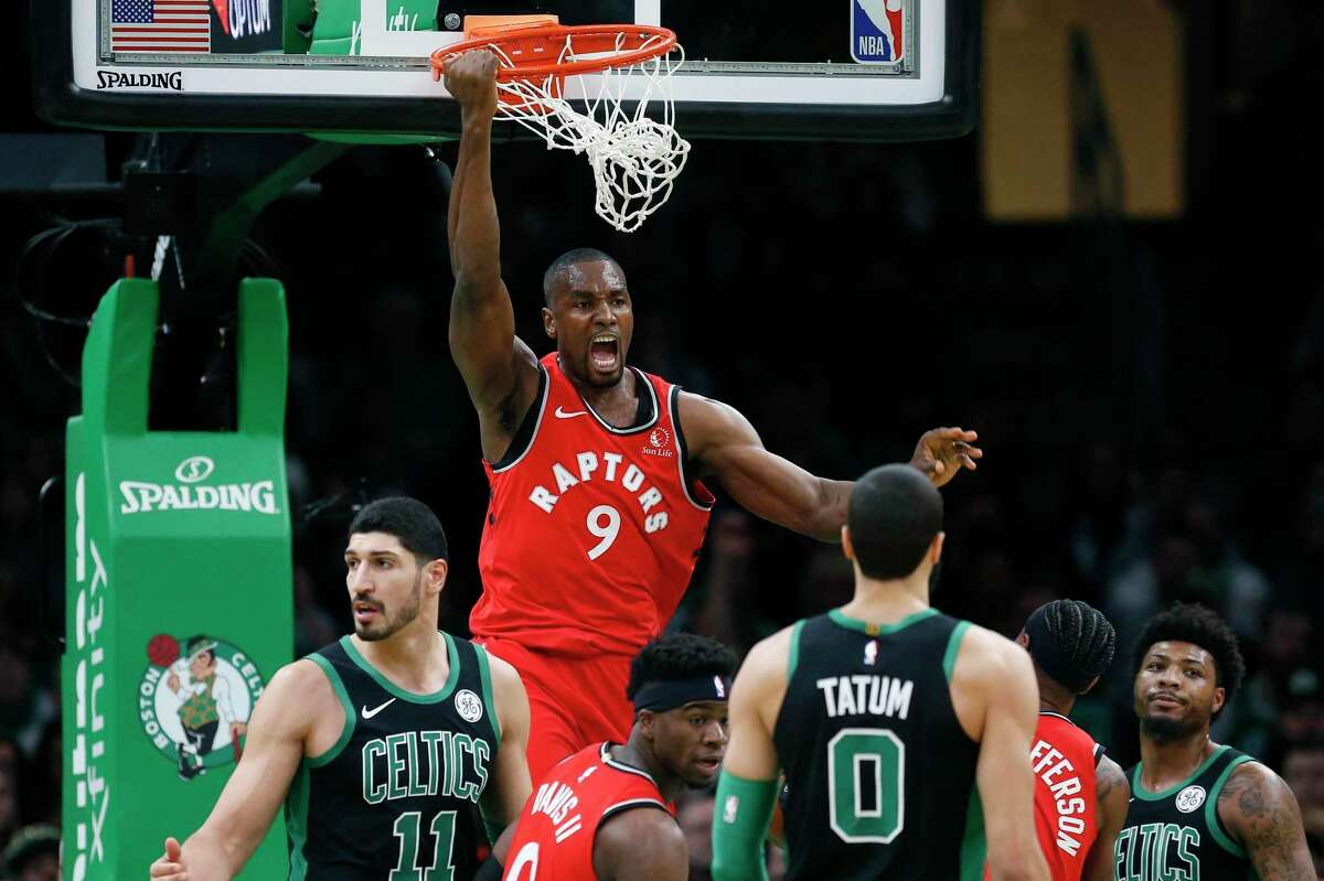 Serge Ibaka is not the defensive force that he once was, but still excels and continues to improve as a 3-point shooter.
