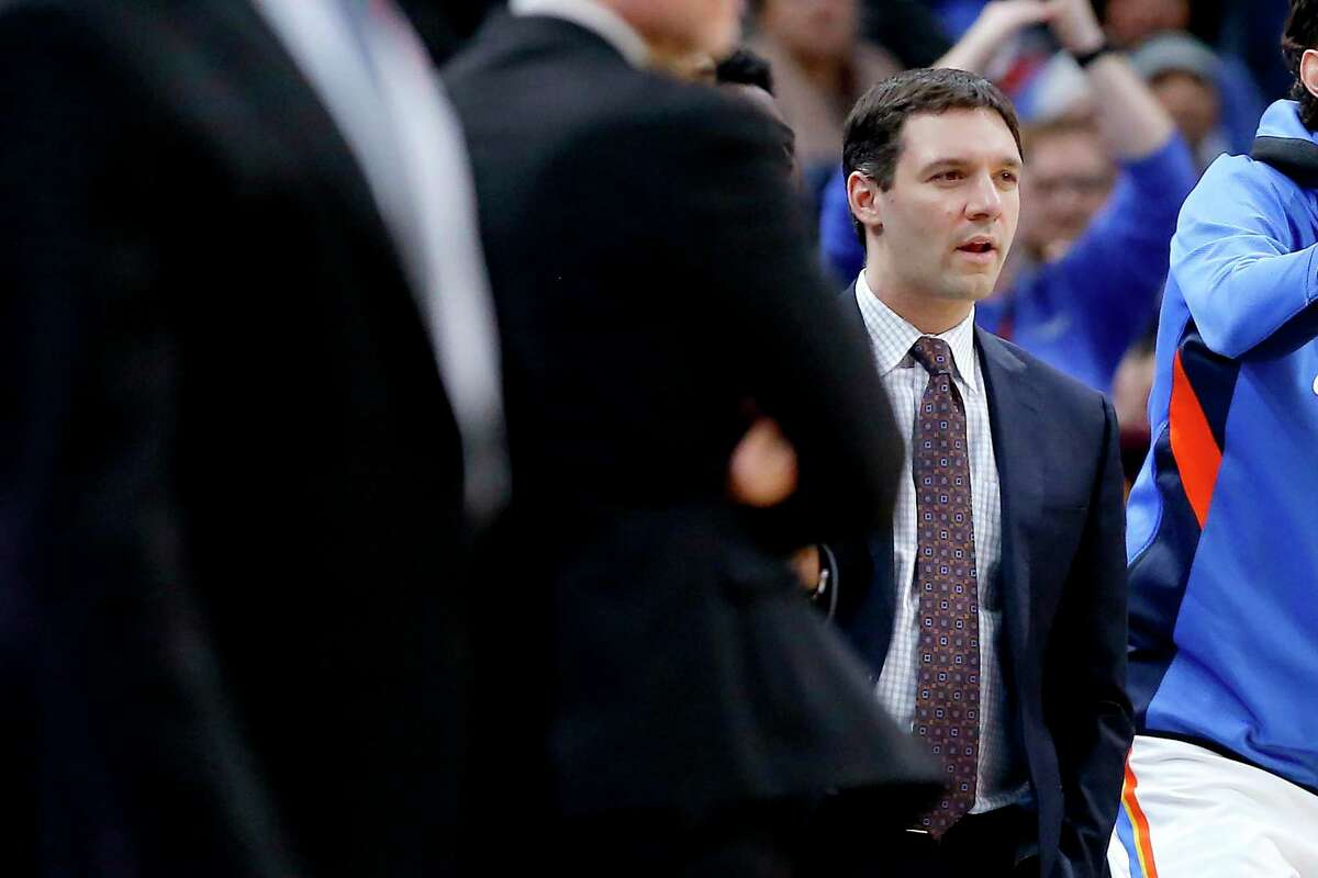 Mark Daigneault was named coach of the Oklahoma City Thunder on Nov. 11. The former UConn student manager is the second-youngest head coach in the NBA.