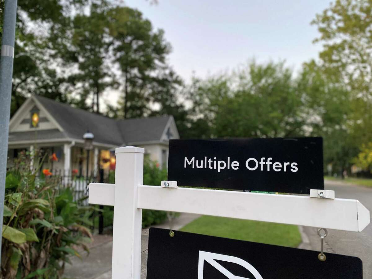 Houston homes are seeing multiple offers amid a pandemic-fueled housing boom.