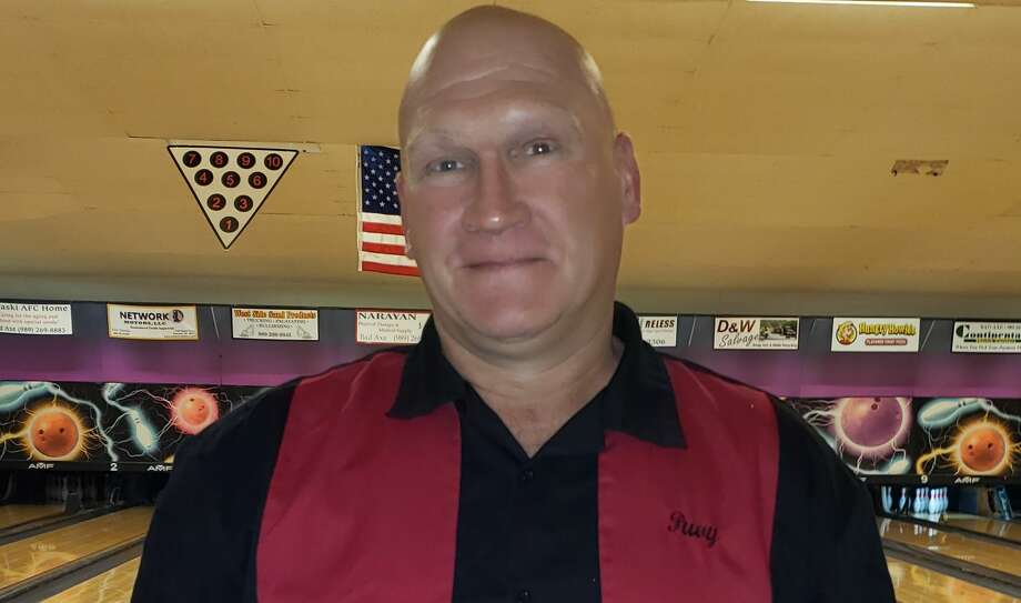 Congratulations to Brian Puvalowski on bowling a 300 game on Oct. 19 at Longshot Lanes during the Monday Nigh Men's League. Brian bowled a 236, 223 and a 300 for a 759 series. Photo: Submitted Photo