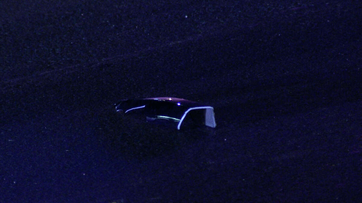 San Antonio police are searching for the driver of a vehicle that hit and killed an elderly man on the Northwest Side late Thursday night.