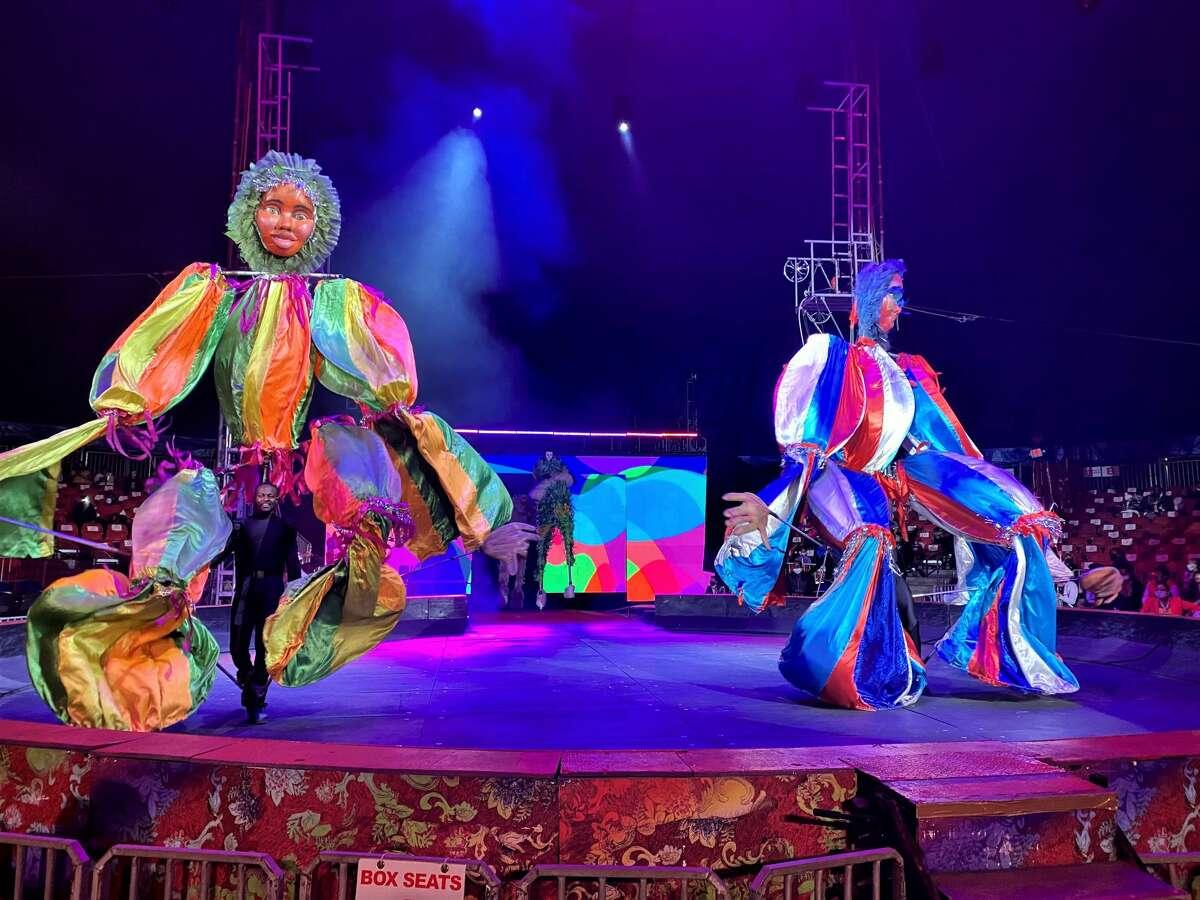 Dancers at UniverSoul Circus.