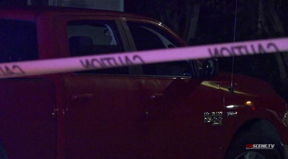 Houston police investigate a fatal shooting in the south central area on Thursday, Nov. 19, 2020.