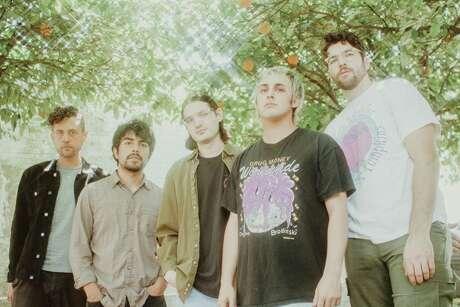 Houston band Narrow Head is, from left, Ryan Chavez, William Menjivar, Kora Puckett, Jacob Duarte and Carson Wilcox