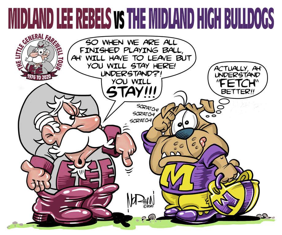 Lee vs Midland High graphic Photo: Courtesy Photo