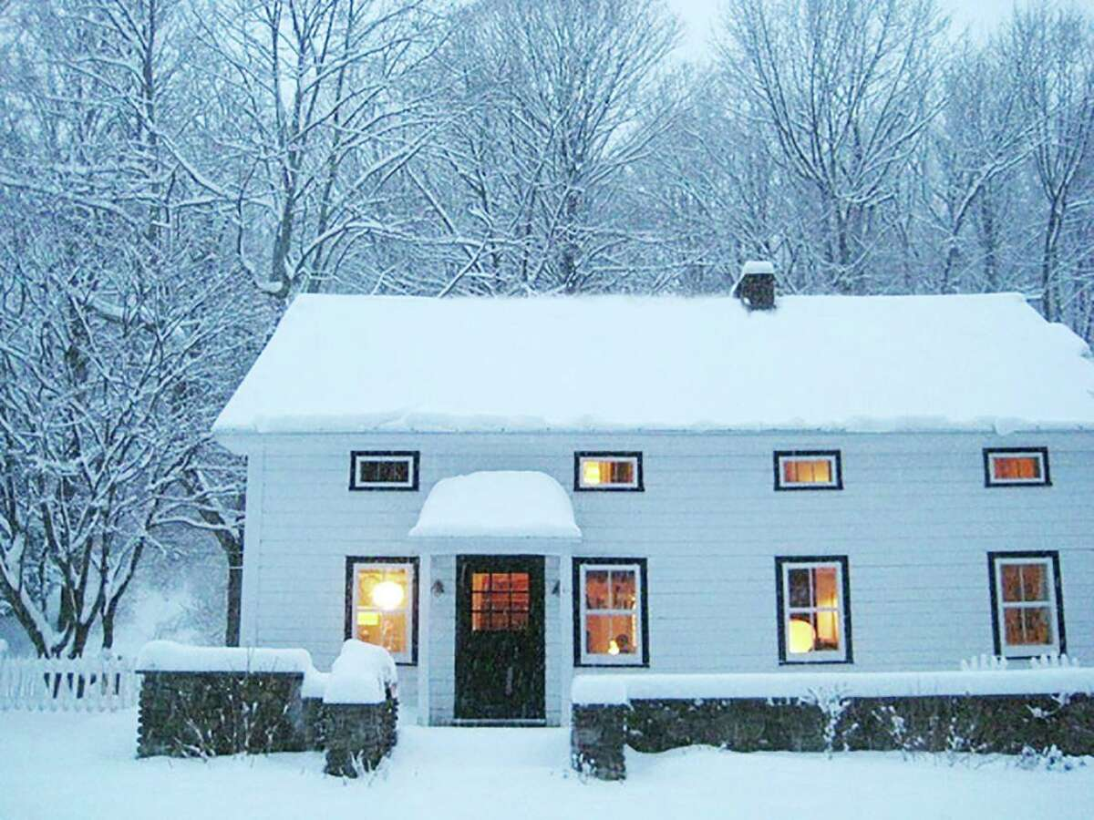 """Towns in Ulster County and throughout the Hudson Valley explore short-term rental limits, potentially affecting the Airbnb market. This Airbnb listing is in the Catskills in West Shokan, Ulster County. """"Watson House, 150 year old Modern."""" View full listing on Airbnb."""