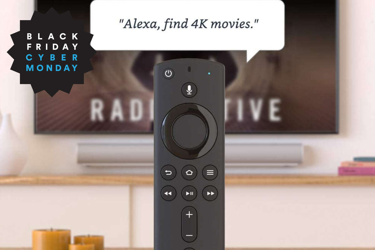 Fire TV Stick 4K streaming device with Alexa built in, $12 off on Amazon for Black Friday