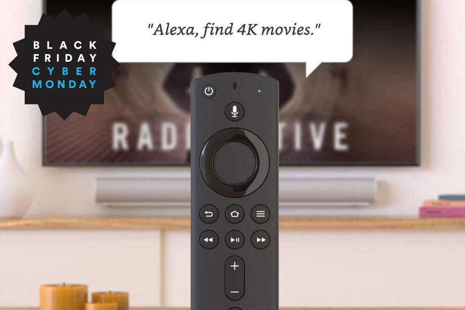 Fire TV Stick 4K streaming device with Alexa built in, $12 off on Amazon for Black Friday Photo: Amazon/Hearst Newspapers