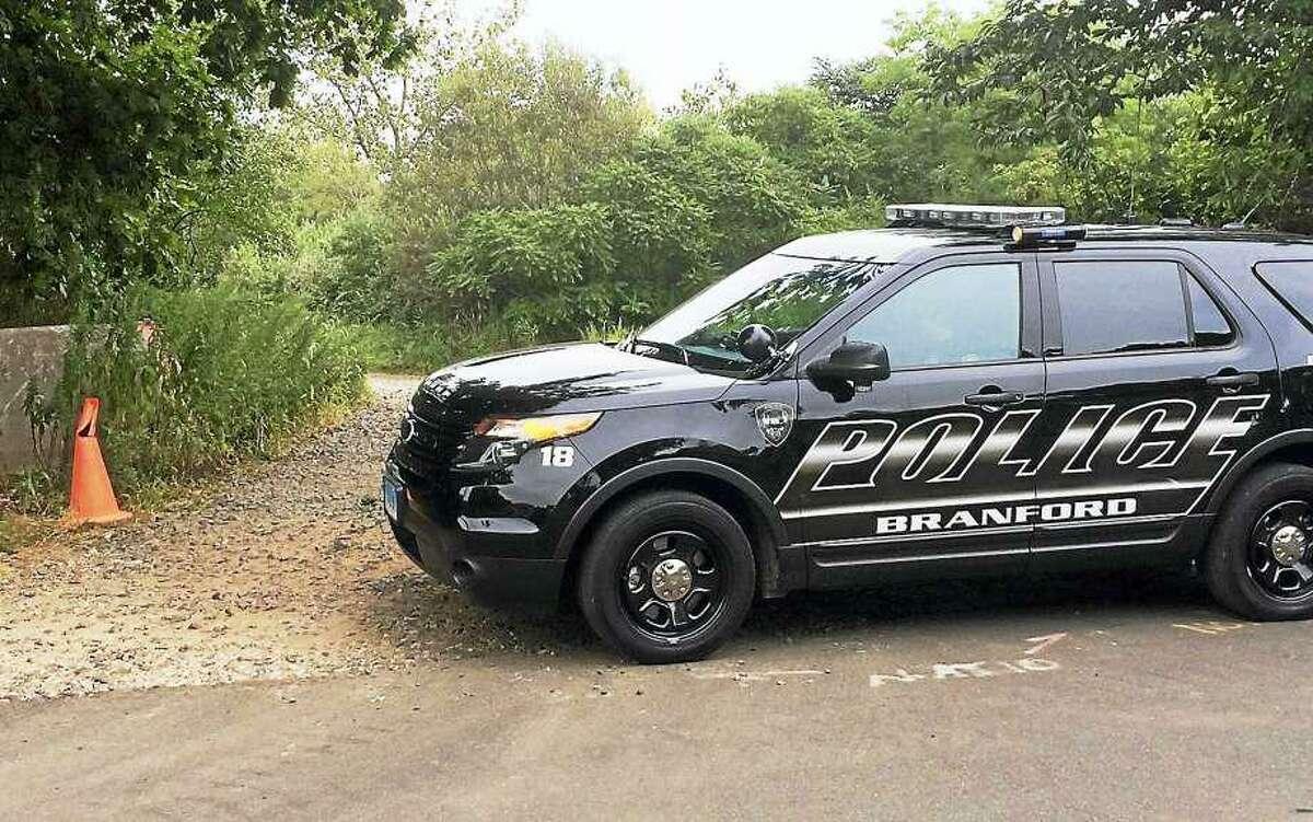 Branford Police Department SUV cruiser in a file photo.