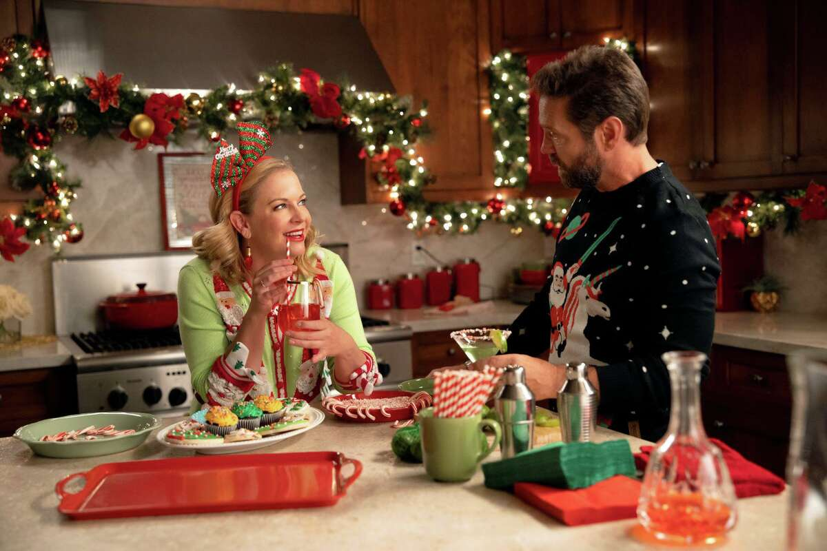 "Melissa Joan Hart, left, and Jason Priestley star in ""Dear Christmas,"" premiering Nov. 27 at 8 p.m. on Lifetime."