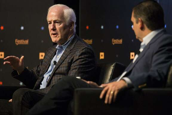Readers share their opinions on U.S. Sens. John Cornyn, left, Ted Cruz and other GOP officials in the aftermath of the Nov. 3 elecction.