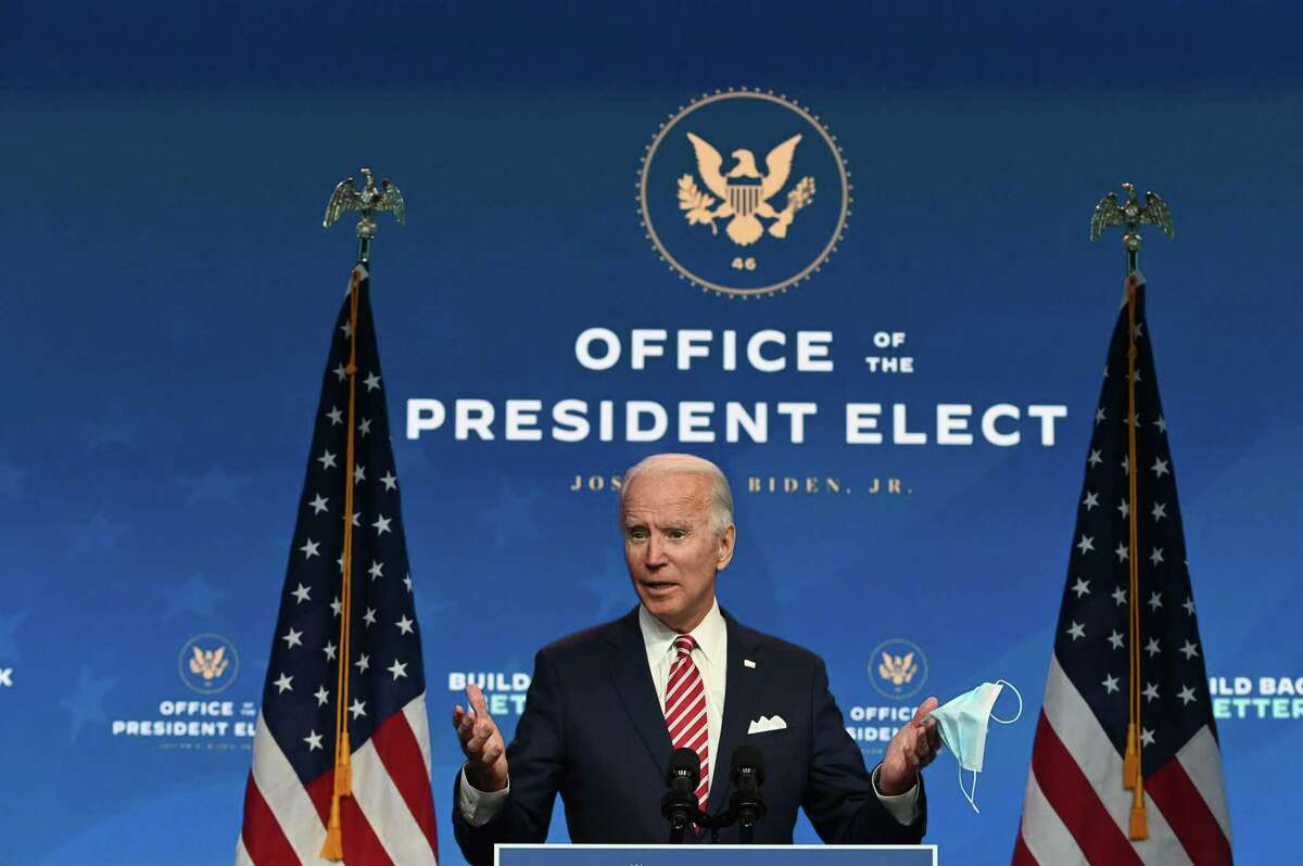 President-elect Joe Biden speaks at a news conference at The Queen in Wilmington, Delaware, on Monday. The Editorial Board's call for Republicans to acknowledge Biden's victory triggered quite a response.