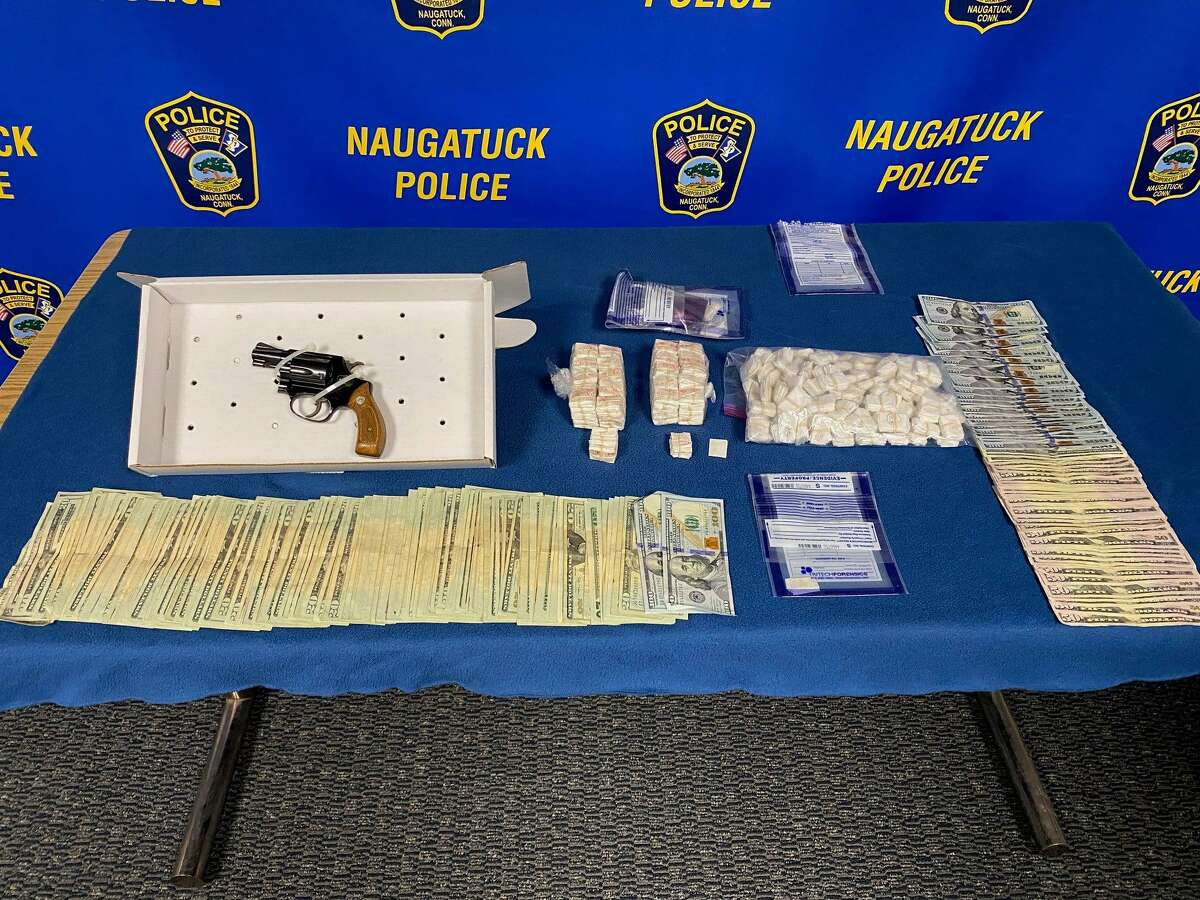 Items seized during a search of two Naugatuck, Conn., residences on Nov. 12, 2020.