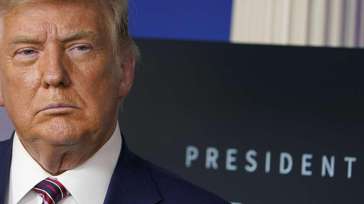 President Trump has floated the idea of pardoning himself.