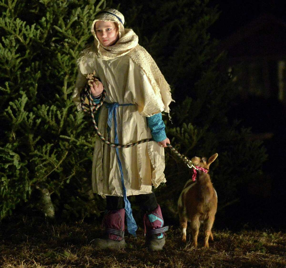 Wilton Presbyterian Church and St. Matthew's Episcopal Church will present a drive-by living nativity Sunday, Dec. 13, from 3 to 5 p.m., at WEPCO, 48 New Canaan Road.