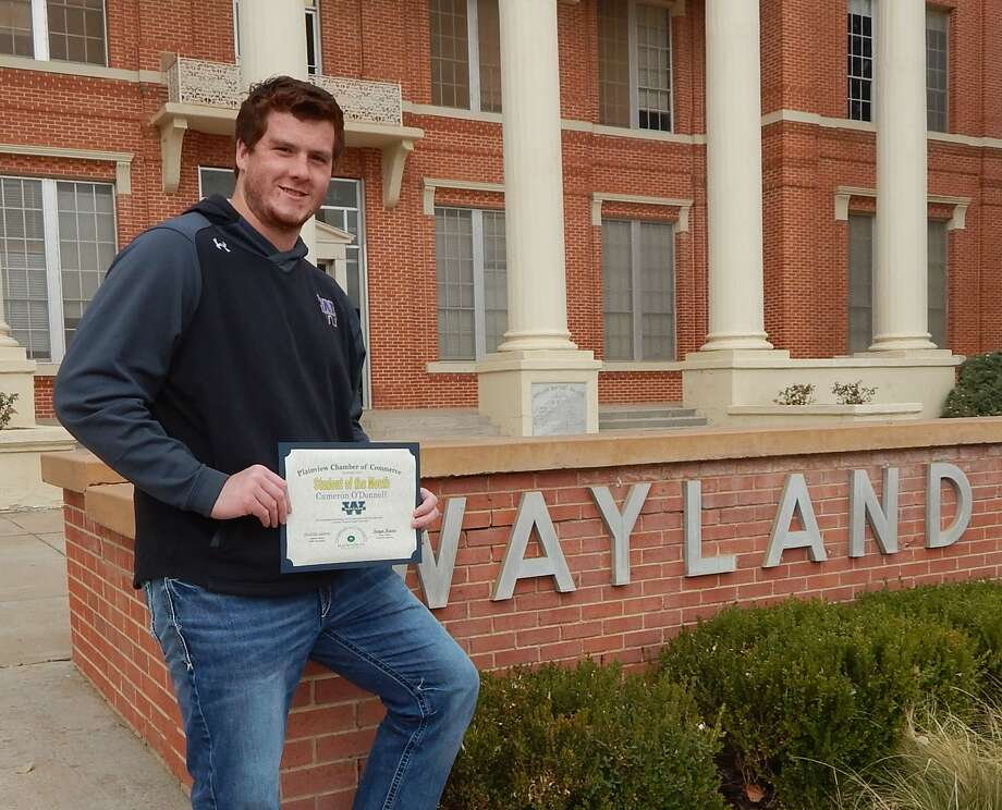 Cameron O'Donnell, 22, is the son of Jim and Donna O'Donnell of Lubbock. He is the November 2020 Student of the Month. Photo: Provided By The Chamber Of Commerce