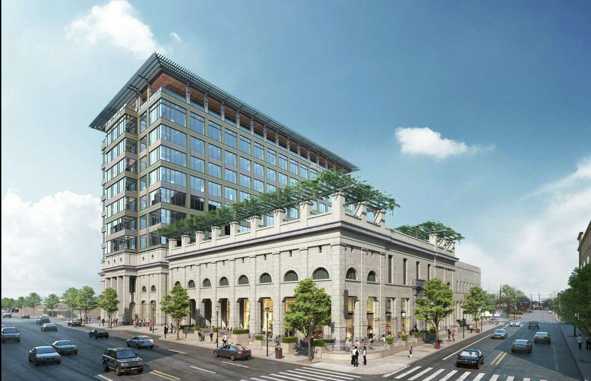 Jefferson Bank has started construction on a building on the 1900 block of Broadway that will house its headquarters.