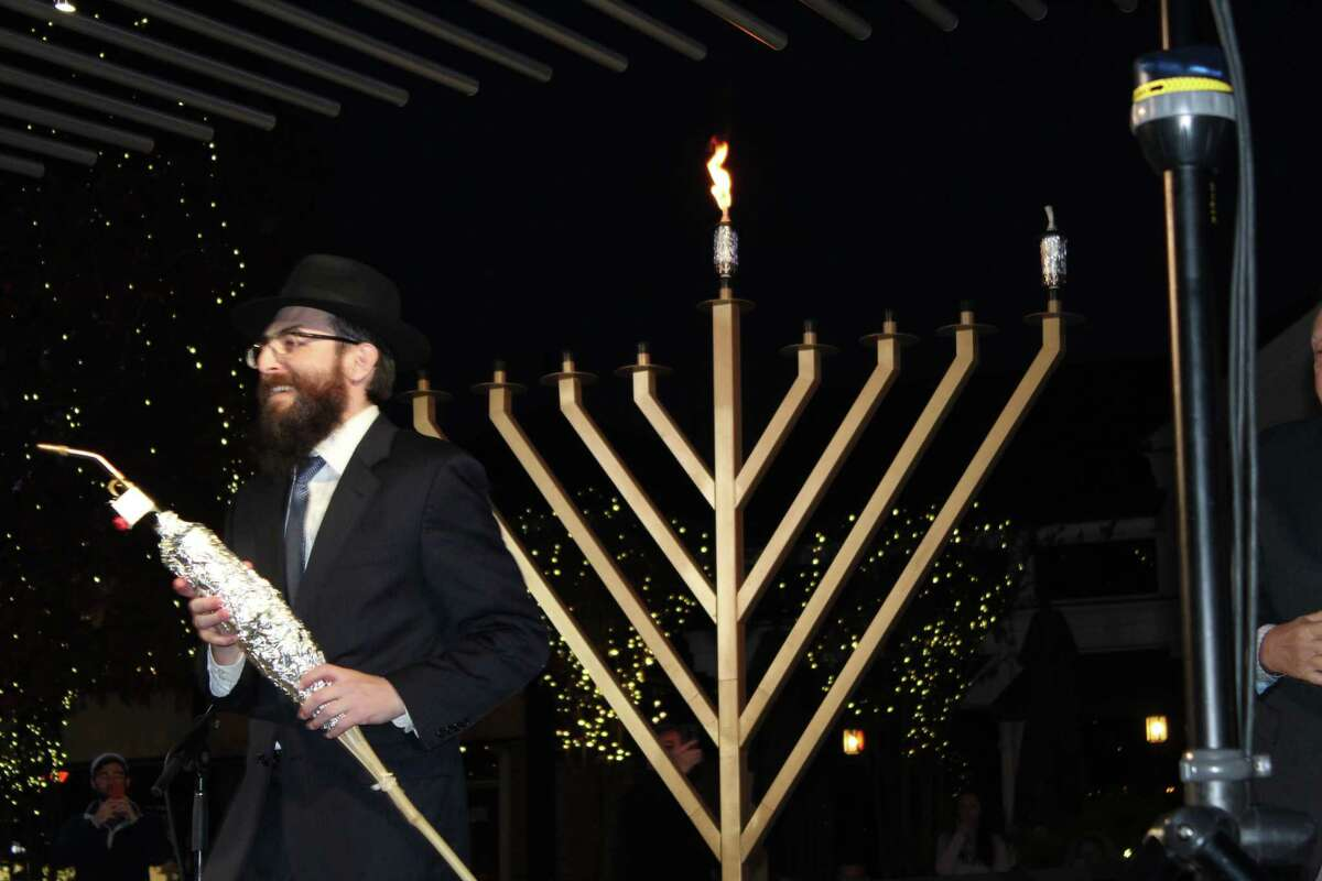 For Rabbi Mendel Blecher and the wider Jewish community in The Woodlands, hosting the annual Lighting of the Menorah has even more importance this year, one marked by challenges from the COVID-19 pandemic.