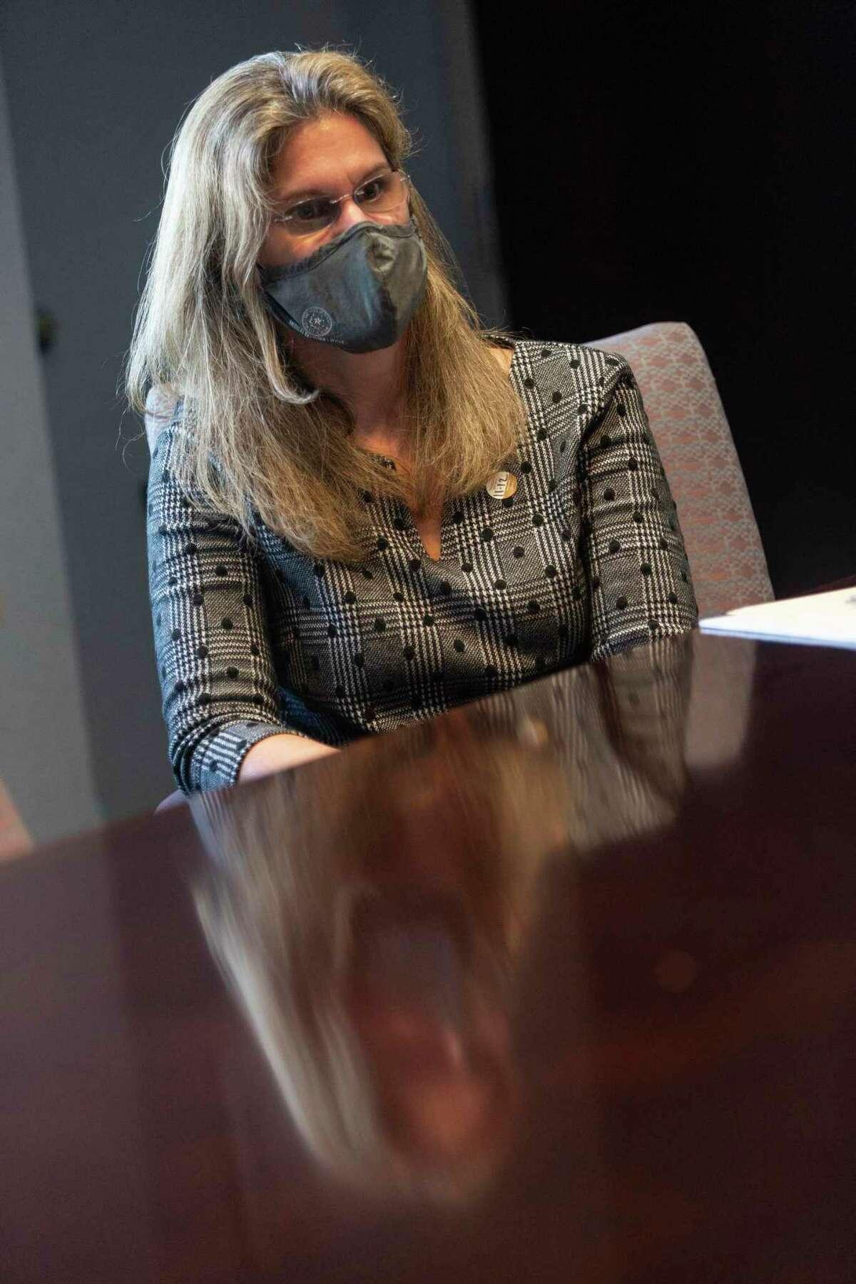 Dr. D. Kimberley Molina, Bexar County's chief medical examiner