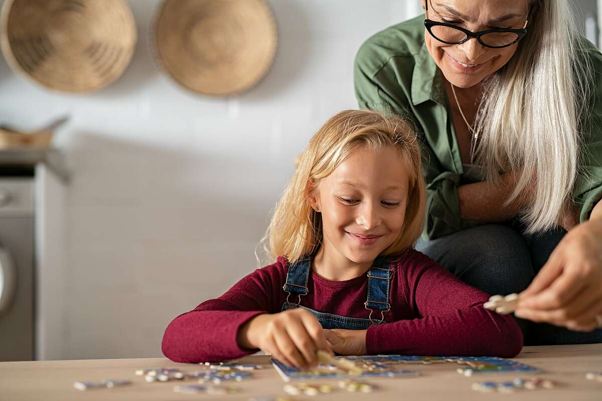 For families tired of their well-used quarantine activities, try gifting them new activities, like puzzles.