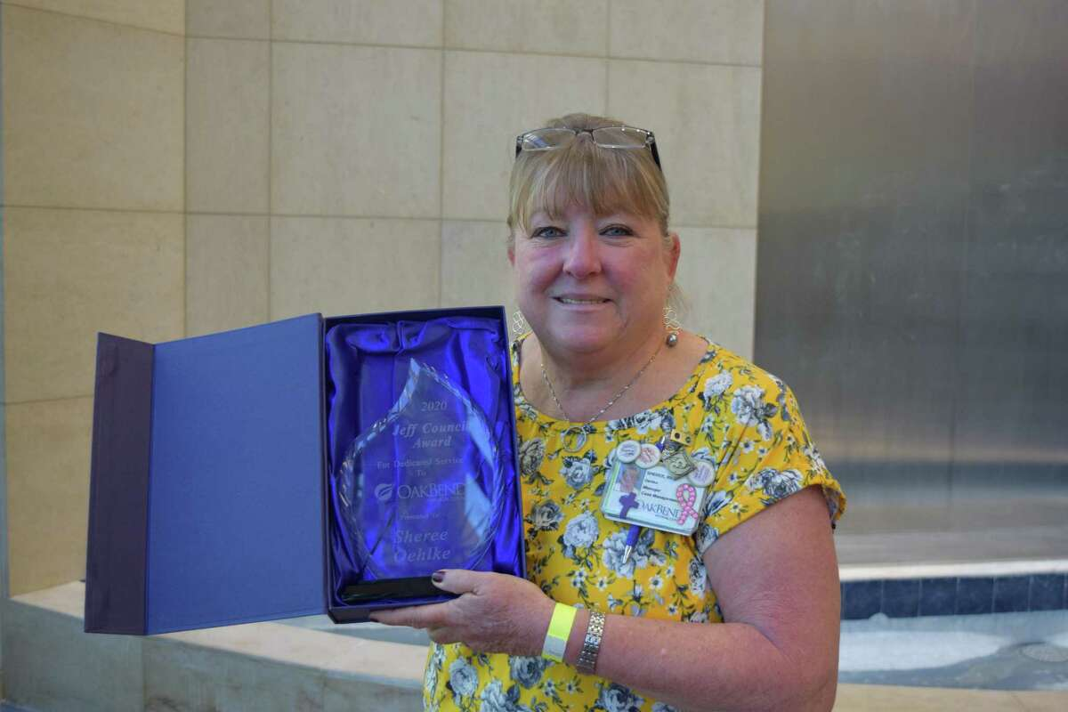 Sheree Oehlke has worked for nearly three decades as part of the nursing and administrative staff at Oakbend Medical Center where she was recently named the 2020 Jeff Council Award winner.