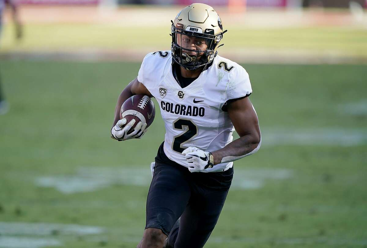 Colorado freshman Brenden Rice scored his first collegiate touchdown last weekend in a win at Stanford.
